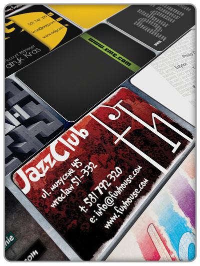 Projektowanie wizytówek w Adobe Photoshop CS5 1