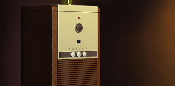 Modelowanie w Maya: retro TV Philco