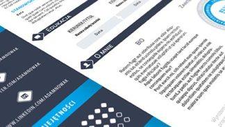 InDesign od podstaw w praktyce projekt CV - tutorial