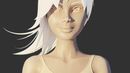 Modelowanie w Blenderze – pogodna dziewczyna - szkolenie wideo